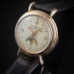 JAEGER LECOULTRE MOONPHASE PINK GOLD