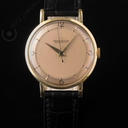 JAEGER LECOULTRE OR JAUNE CADRAN CHAMPAGNE